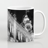 madrid Mugs featuring Madrid by Kellabell9