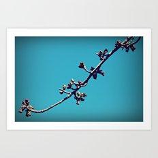 The Branch that Hangs Alone Art Print
