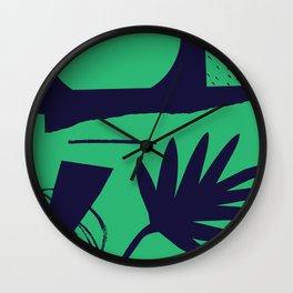 Jungle Grunge Wall Clock