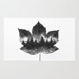 Leaf of the forest Rug