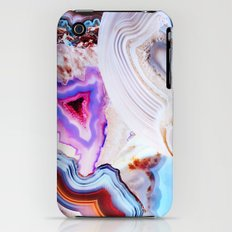 Agate, a vivid Metamorphic rock on Fire Slim Case iPhone (3g, 3gs)
