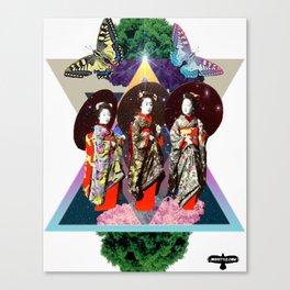 STRENGTH, GRACE & SPACE Canvas Print
