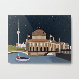 Museum Island Berlin Metal Print