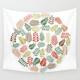 Colorful branches 1 Wall Tapestry