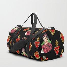 Sacred Hearts and Frida Duffle Bag