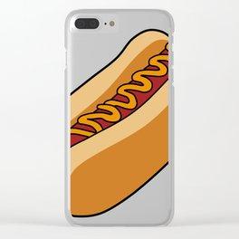 Hotdog Clear iPhone Case