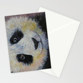 Panda Smile Stationery Cards