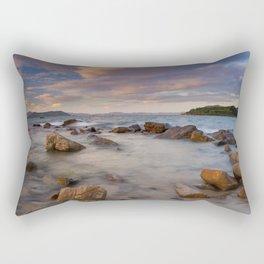 Colourful Ocean Scene Rectangular Pillow