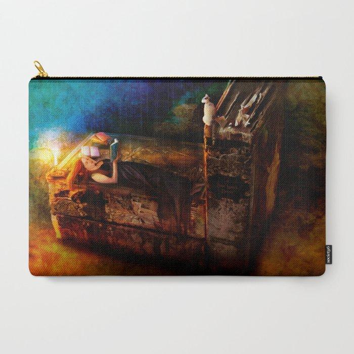 Ex Libris - A Book Lover's Dream Carry-All Pouch