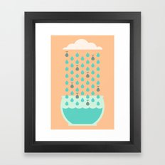 It's Raining Whales Framed Art Print