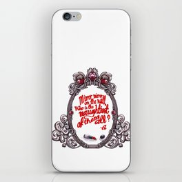 Who is the naughtiest of them all? iPhone Skin