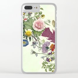 Plucked at random . Clear iPhone Case