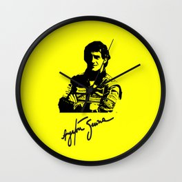 Ayrton Senna Tribute Wall Clock
