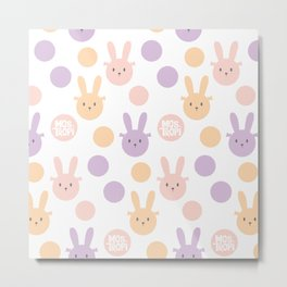 Bunny Color Metal Print