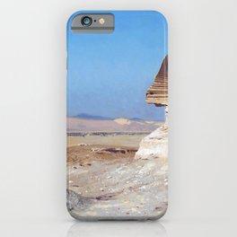 Jean-Leon Gerome - Bonaparte Before The Sphinx - Digital Remastered Edition iPhone Case