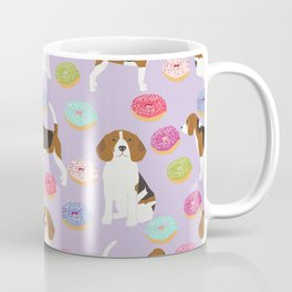 Beagle donuts cute gifts for pure breed dog lover beagles owners Coffee Mug