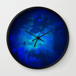 Blue Omni Wall Clock