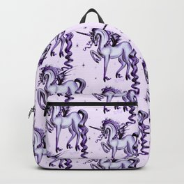 Unicorn with Bat Wings Backpack