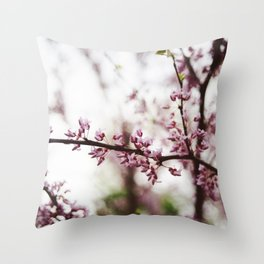 The Pinker the Better Throw Pillow