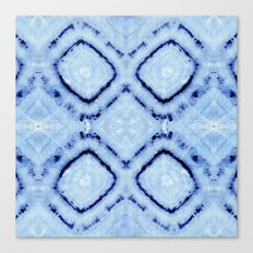 Tie-Dye Dia Sky Canvas Print