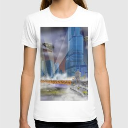 Windy City (Steampunked) T-shirt