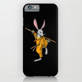Rabbit Ninja iPhone Case