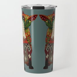 fox love Travel Mug