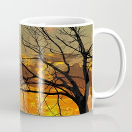 Sunset Tree, California Coffee Mug