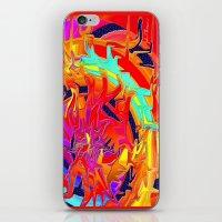 chakra iPhone & iPod Skins featuring Chakra by JT Digital Art