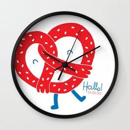 Ich Liebe Dich Wall Clock