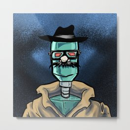 Robot in Disguise Metal Print