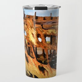 The Wreck of the Peter Iredale Travel Mug