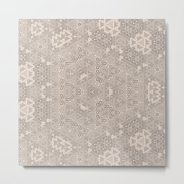 Minimalistic elegant light design Metal Print