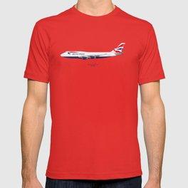 British Airways 747 T-shirt