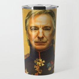 Alan Rickman - replaceface Travel Mug