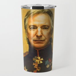 Alan Rickman - replaceface Travel Mug