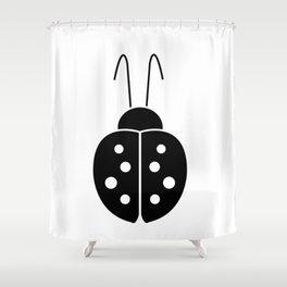 Dinomania - Lady Luck Shower Curtain