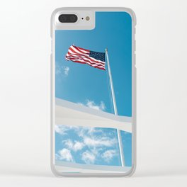 Pearl Harbor Clear iPhone Case