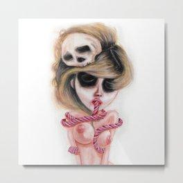 Ghostly Dull Senses Metal Print