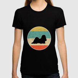 Lhasa Apso Dog Gift design T-shirt
