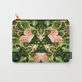 Pattern of pink roses 01 / Sleeping Beauty Carry-All Pouch