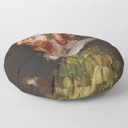 Giuseppe Arcimboldo  -  La Primavera Floor Pillow