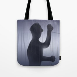 If you're Home Alone, showering... Tote Bag