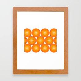 Retro 05 Framed Art Print