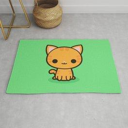 Kawaii Kitty 2 Rug