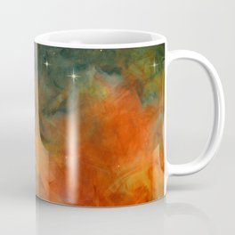 Orange Starlite Coffee Mug