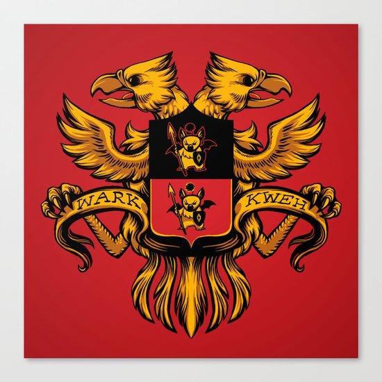 Crest de Chocobo Canvas Print