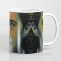dale cooper Mugs featuring Special Agent Dale Cooper by András Récze