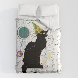 Chat Noir  Party Countdown Comforters