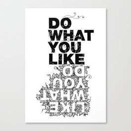 What You Like... Canvas Print